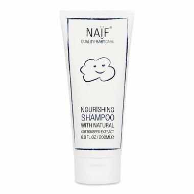 Naif, Odżywczy szampon dla niemowląt 100% naturalny, 200 ml
