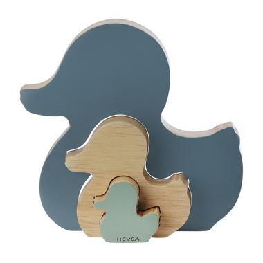 Hevea, Drewniana układanka, niebieska