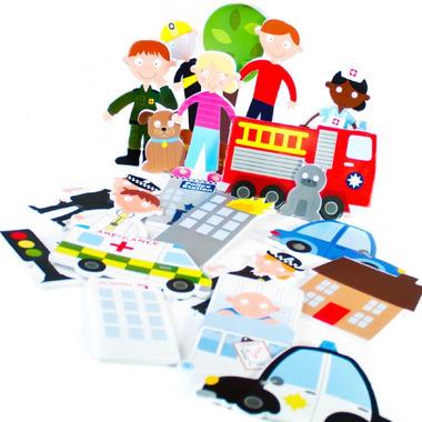 Służby ratunkowe – puzzle do kąpieli