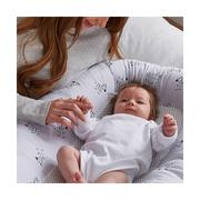 Purflo, Oddychający materac, gniazdko do spania dla niemowląt - Zebry