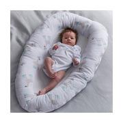 Purflo, Oddychający materac, gniazdko do spania dla niemowląt - Żyrafy