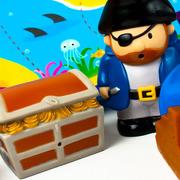 Wyspa skarbów – scenka do kąpieli