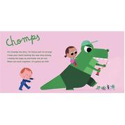 The Brushies, Szczoteczka silikonowa na palec Dinozaur CHOMPS