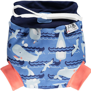 Close Parent, Pieluszka do pływania, Whale, XL