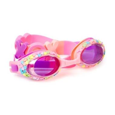 Bling2O, Okulary do pływania Pastelowe serduszka Hugs & Kissed