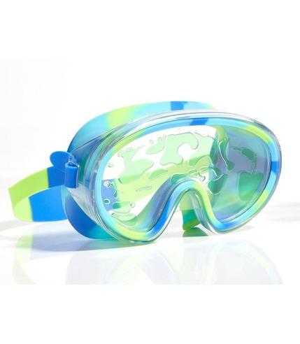 Bling2O, Maska do pływania limonkowa Lawa