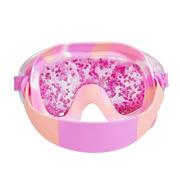 Bling2O, Maska do pływania z różowym brokatem