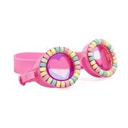 Bling2O, Okulary do pływania, Pudrowe Cukierki