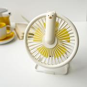 Rabbit&Friends, Wiatraczek-lampka miś kremowy
