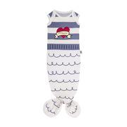 Baby Bites, Śpioszki Baby Gown Sailor (0-3 miesięcy) Blue