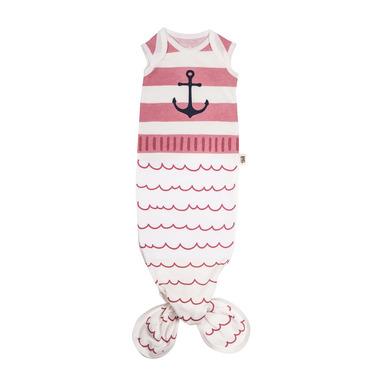 Baby Bites, Śpioszki Baby Gown Sailor (0-3 miesięcy) Pink