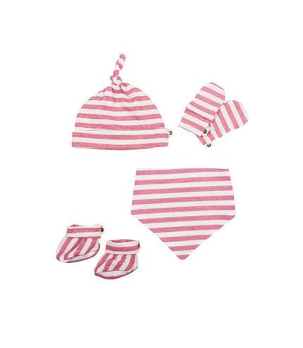 Baby Bites, Zestaw dla noworodka Sailor (0-3 miesięcy) Pink