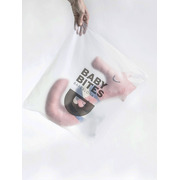 Baby Bites, Poduszka do karmienia Sea Horse 55 x 35 cm Pink