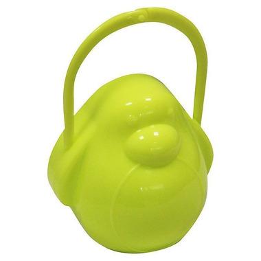 Poupy, Pojemnik na Smoczek Pingwin, Zielony, 0m+