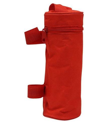 Poupy, Etui Termiczne na Butelkę 500 ml, Czerwone