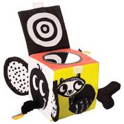 Manhattan Toy, Miękka edukacyjna kostka Zoo zabawa
