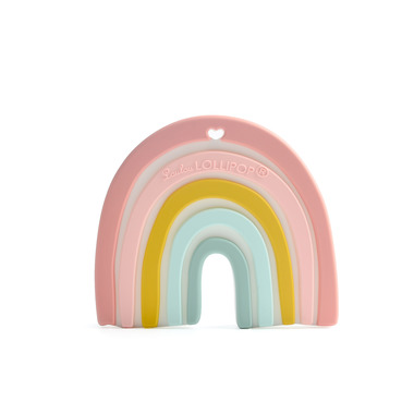 LouLou Lollipop, gryzak silikonowy Pastel Rainbow