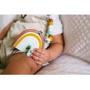 LouLou Lollipop, gryzak silikonowy Neutral Rainbow