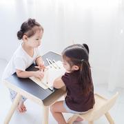 plan toys, Stół i krzesełko, kolor czarny