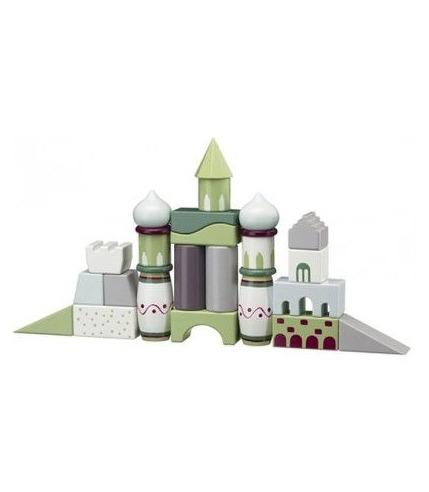 Klocki Drewniane Kolorowe Kids Concept