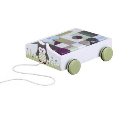 Klocki Drewniane W Wózku Kids Concept