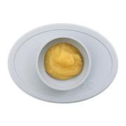 EZPZ, Komplet pierwszych naczyń silikonowych First Foods Set pastelowa szarość