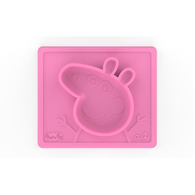 EZPZ, Silikonowa miseczka z podkładką 2w1 Peppa Pig™ różowa