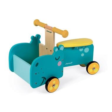 Janod, Drewniany jeździk ze skrzynią Hipopotam