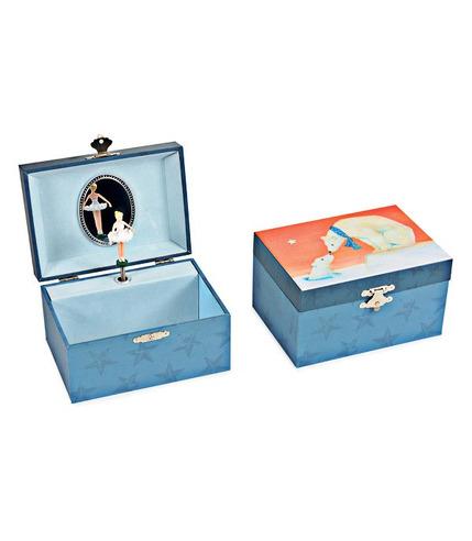 Egmont Toys, Pozytywka - szkatułka z baletnicą, Misie polarne
