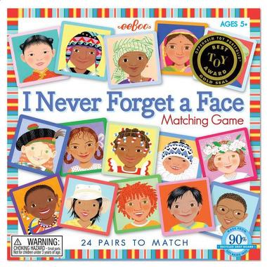 Gra Memory Twarze - I NEVER FORGET A FACE