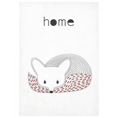 Plakat A3 Lis Home