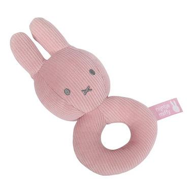 Tiamo, Miffy Pink Babyrib Grzechotka miękka