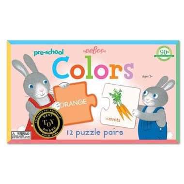 Puzzle Kolory eeBoo