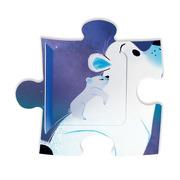 Janod, Puzzle z niespodzianką 20 elementów Pod gwiazdami