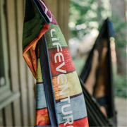 LittleLife, Ręcznik szybkoschnący Soft Fibre Lifeventure - Mandala 150x90 cm