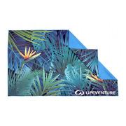 LittleLife, Ręcznik szybkoschnący Soft Fibre Lifeventure - Tropical 150x90 cm