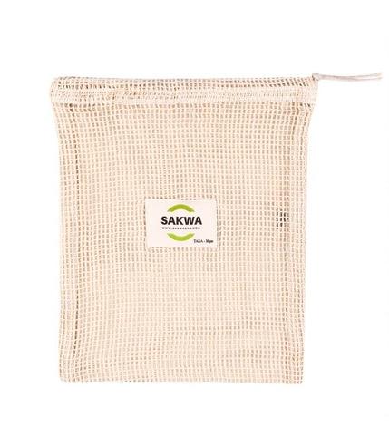 Sakwabag, Worek na zakupy zero waste, średni, 25x30cm, tara 35g