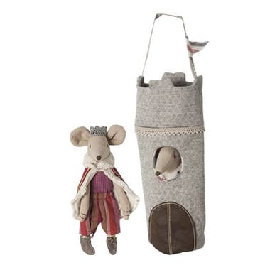 Maileg, król Myszka w wieży