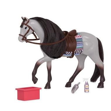 Lori, KOŃ Blue Roan Horse z akcesoriami