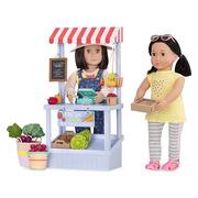 Our Generation, Kram z warzywami oraz akcesoriami – FARMER'S MARKET SET