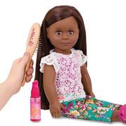 Our Generation, Drewniana szczotka i butelka z rozpylaczem – OG DOLL HAIR CARE