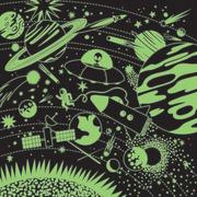 Mudpuppy, Puzzle rodzinne świecące w ciemności Kosmos 500 elementów 8+