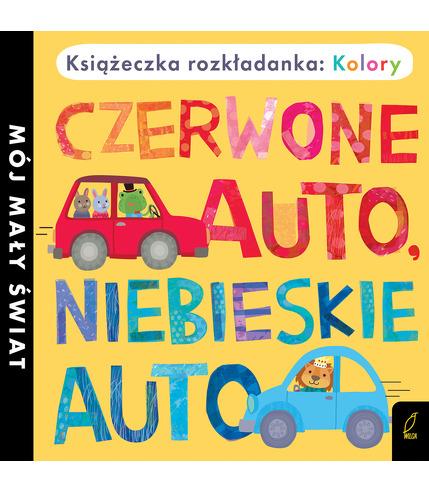 Czerwone Auto Niebieskie Auto Książka...