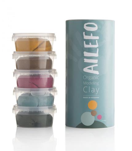Ailefo, Organiczna Ciastolina, duża...
