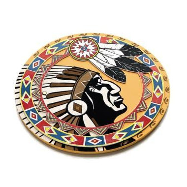 Indian Navajo, Tarcza indiańska