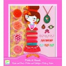 Zestaw do tworzenia biżuterii Perły i kokardki Djeco