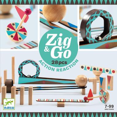 Djeco, Zestaw Zig & Go 28...