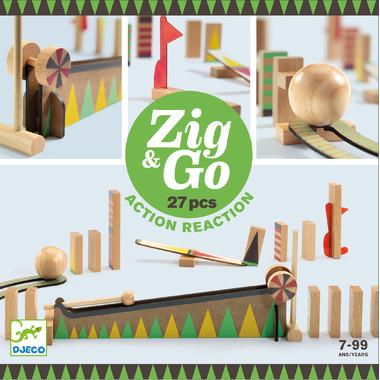 Djeco, Zestaw Zig & Go 27...