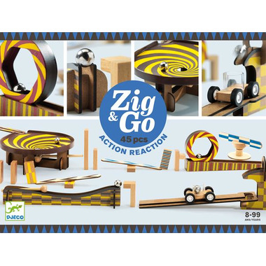 Djeco, Zestaw Zig & Go 45...