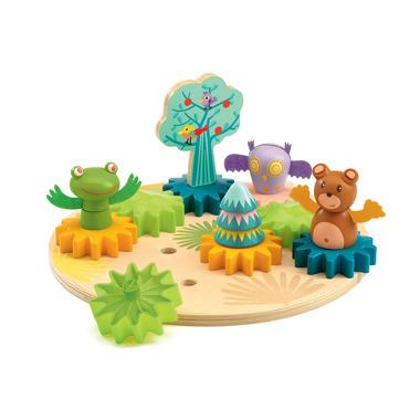 Djeco, Drewniane zabawki...